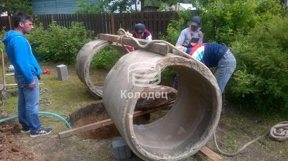 Как выкопать колодец на даче своими руками фото